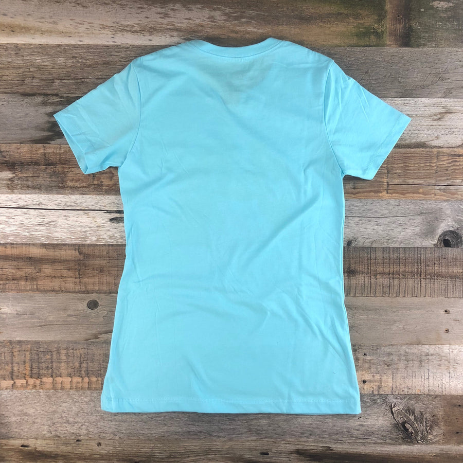 Women's YELLOWSTONE x SW COLLECTION Get Lost Tee - Cool Blue