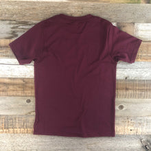 Load image into Gallery viewer, Youth YELLOWSTONE x SW COLLECTION Into The Wild Tee - Maroon