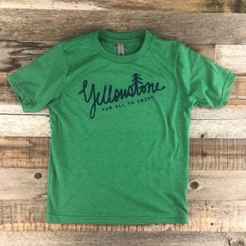 Youth YELLOWSTONE x SW COLLECTION Yellowstone Tee - Kelly Green