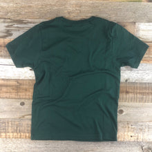 Load image into Gallery viewer, Youth YELLOWSTONE x SW COLLECTION Golden Moose Tee - Forest Green