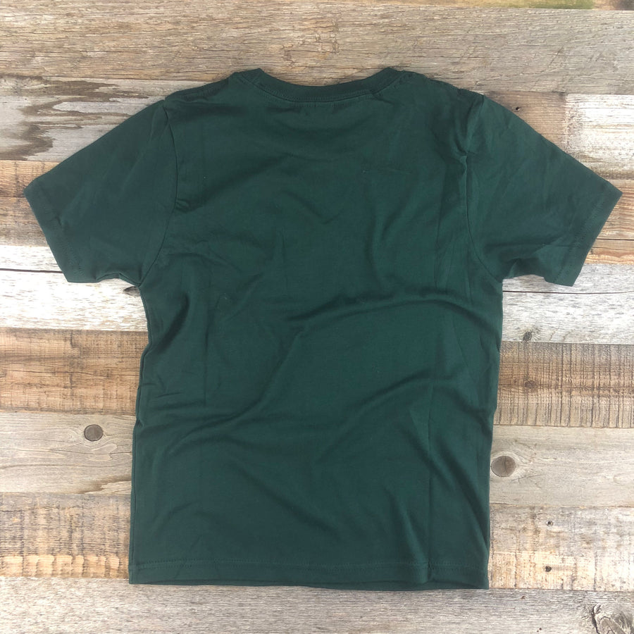 Youth YELLOWSTONE COLLECTION Golden Moose Tee - Forest Green