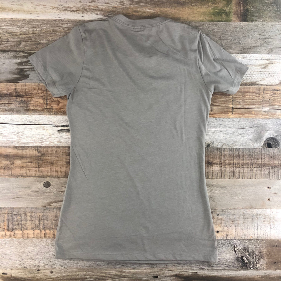 Women's YELLOWSTONE COLLECTION Yellowstone Tee - Stone Grey