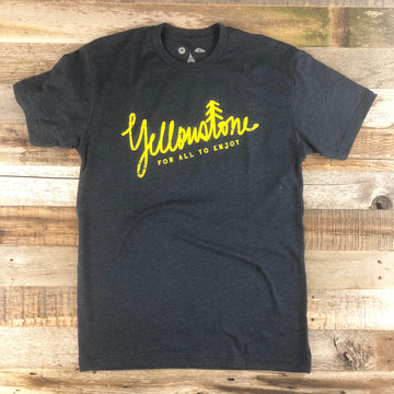 Men's YELLOWSTONE x SW COLLECTION Yellowstone Tee - Navy