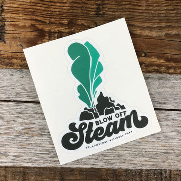 YELLOWSTONE COLLECTION - Blow Off Steam Sticker