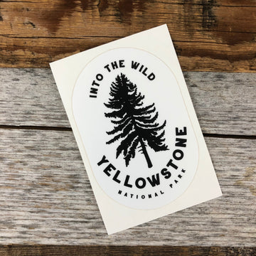 YELLOWSTONE COLLECTION - Into The Wild Sticker