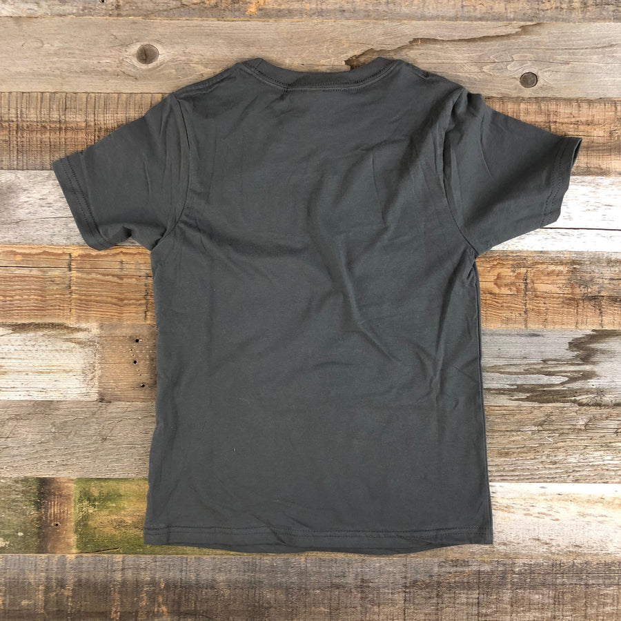 Youth YELLOWSTONE x SW COLLECTION YNP Tee - Charcoal