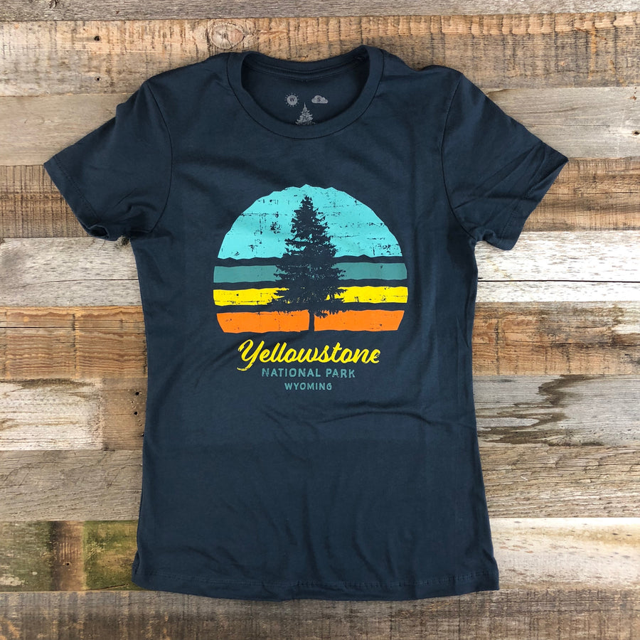 Women's YELLOWSTONE COLLECTION YNP Tee - Navy