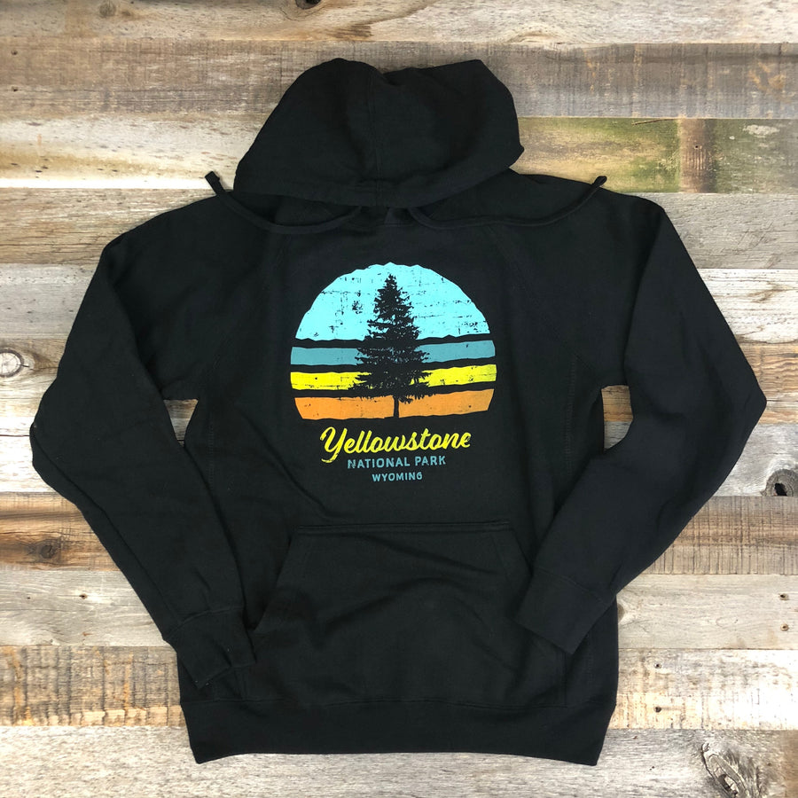 Unisex YELLOWSTONE COLLECTION YNP Hoodie - Black
