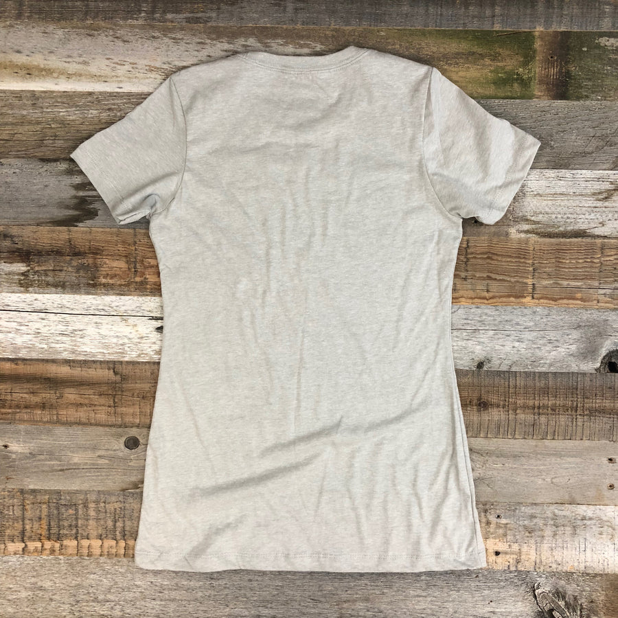 Women's SURF WYOMING® Digi Bison Tee - Sand