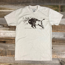 Load image into Gallery viewer, Surf Wyoming-Men's SURF WYOMING® America's Petting Zoo! Tee - Sand-