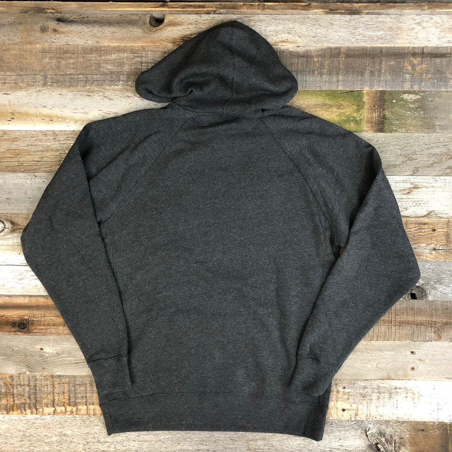 UNISEX SURF WYOMING®  Explore & Restore Hoodie - Charcoal