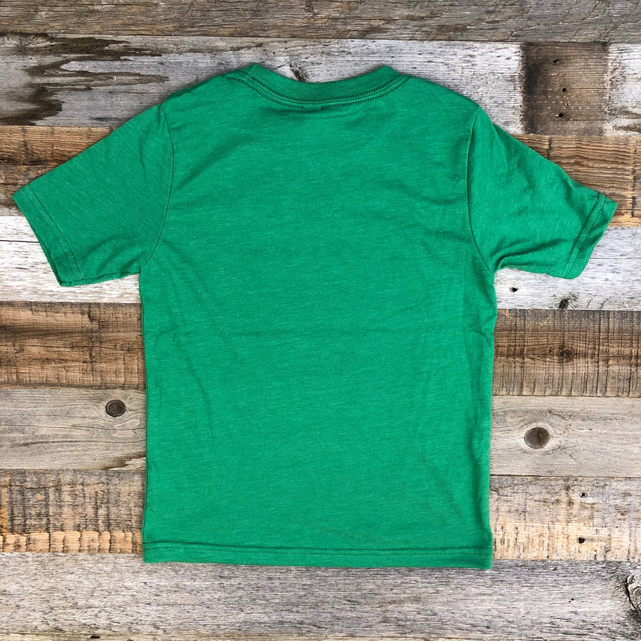 Youth SURF WYOMING®  Censored Tee - Lander Green