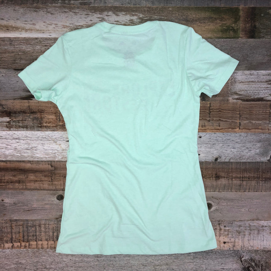 Women's SURF WYOMING®  Explore & Restore Tee - Mint