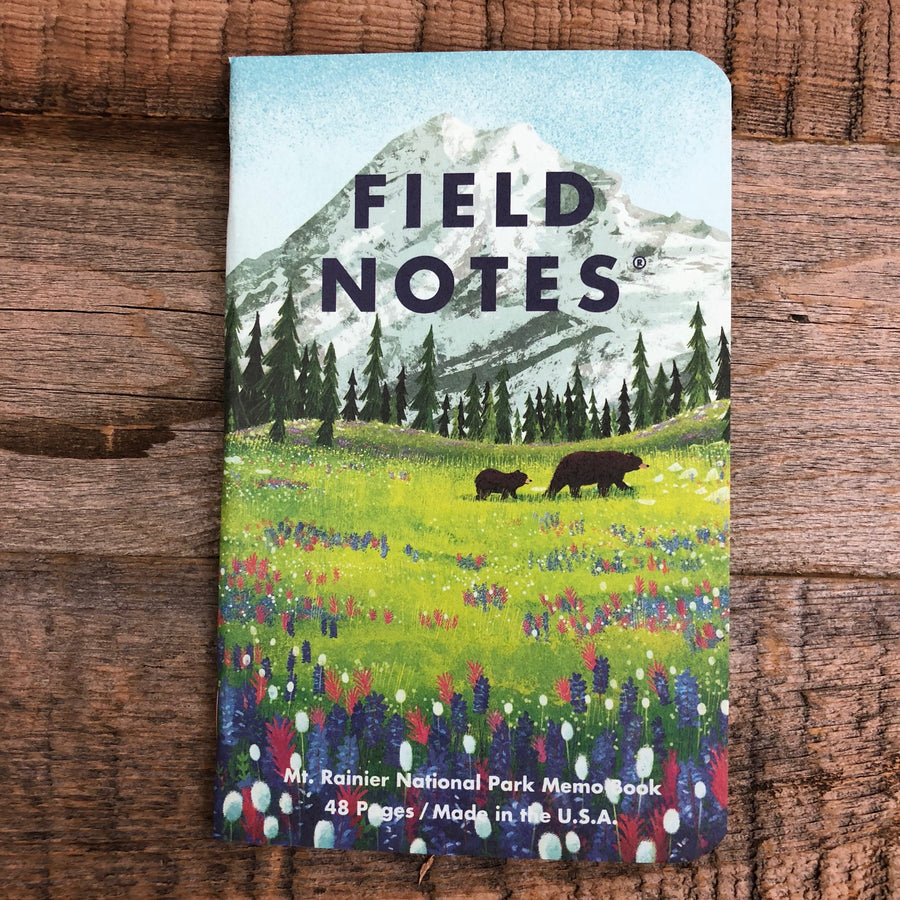 NATIONAL PARKS Series B - Field Notes - 3-Pak