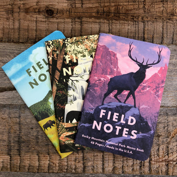 NATIONAL PARKS Series C - Field Notes - 3-Pak