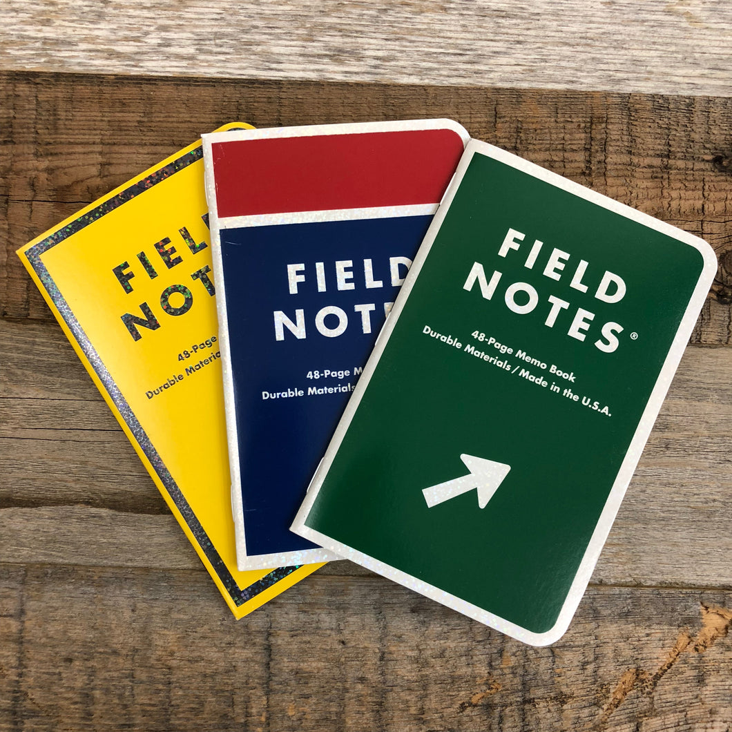 Surf Wyoming-Mile Marker - Field Notes - 3-Pak-