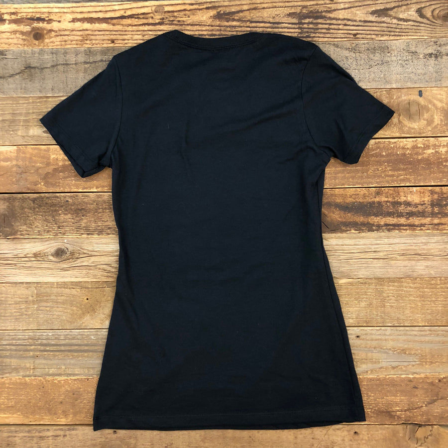Women's Surf Wyoming® First Park Bison Tee - Black