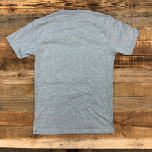 Load image into Gallery viewer, Men's SURF WYOMING® Foam State Tee - Heather Grey
