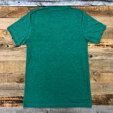 Load image into Gallery viewer, Men's SURF WYOMING® Bison Logo Tee - Two Tone Heather Green