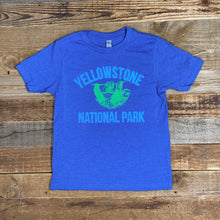 Load image into Gallery viewer, Youth Yellowstone Sloth Tee - Royal