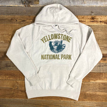 Load image into Gallery viewer, Unisex Yellowstone Sloth Hoodie - Stone