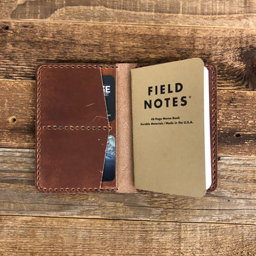 Surf Wyoming UW Field Note Passport - English Tan