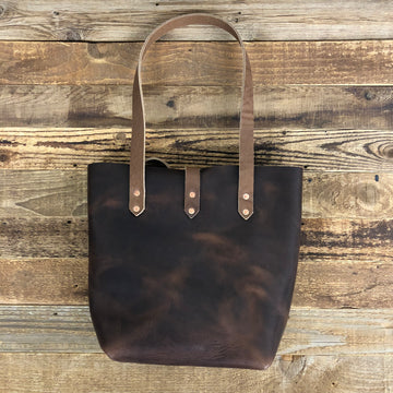 SURF WYOMING BIG HORN TOTE - NUT BROWN