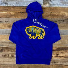 Load image into Gallery viewer, Surf Wyoming-Unisex Intermix Bison Hoodie - Cobalt-