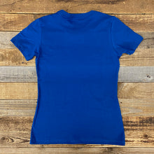 Load image into Gallery viewer, Women's Digi Bison Tee - Royal