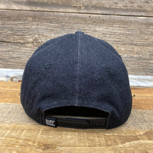 Load image into Gallery viewer, Tradesman Bison Cap - Black Denim/Suede