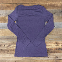 Load image into Gallery viewer, Women's Intermix Bison Long Sleeve - Purple Haze