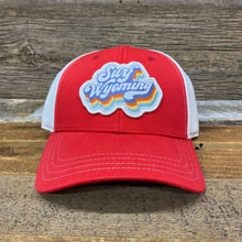 Load image into Gallery viewer, Soda Script Trucker Hat - Red