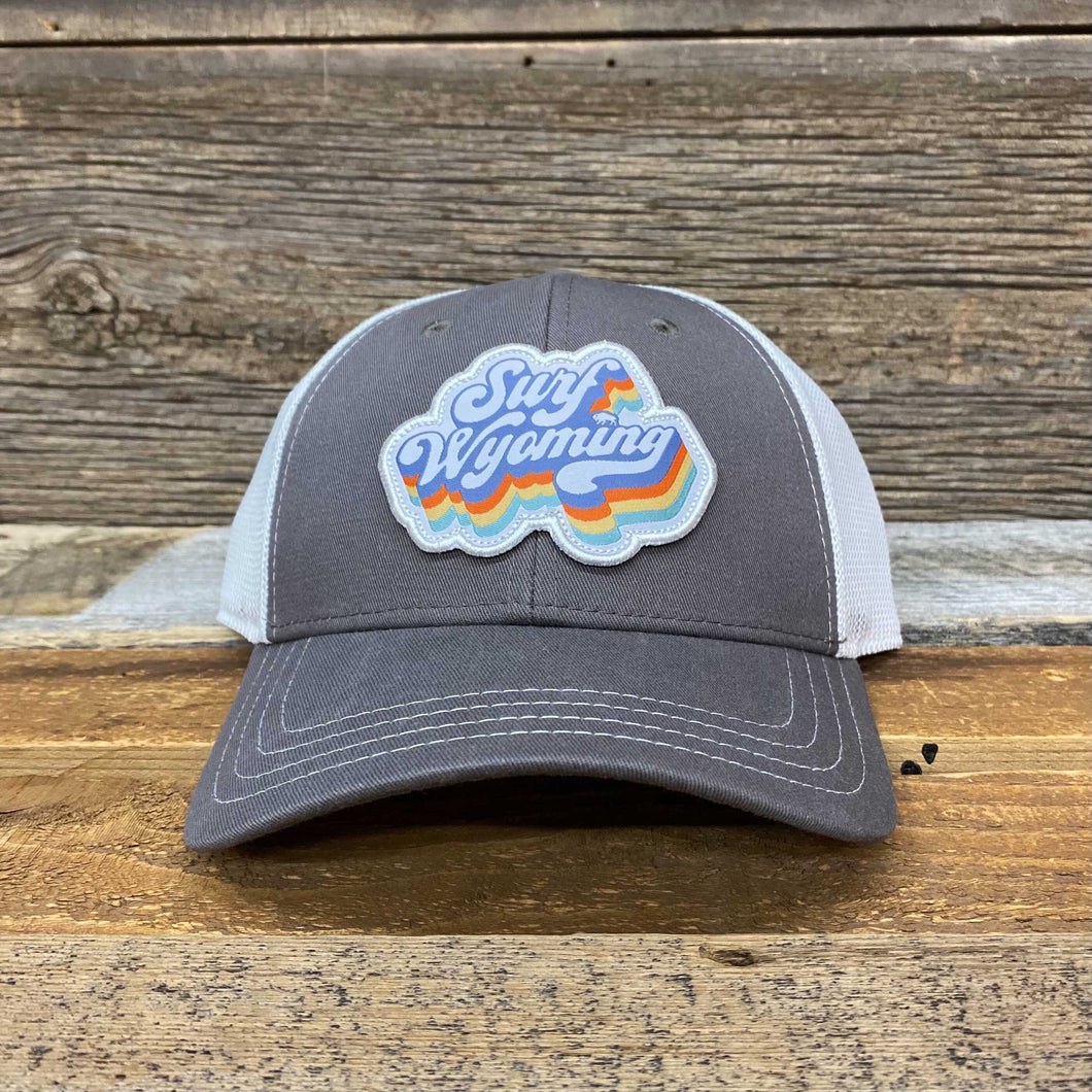 Soda Script Trucker Hat - Grey