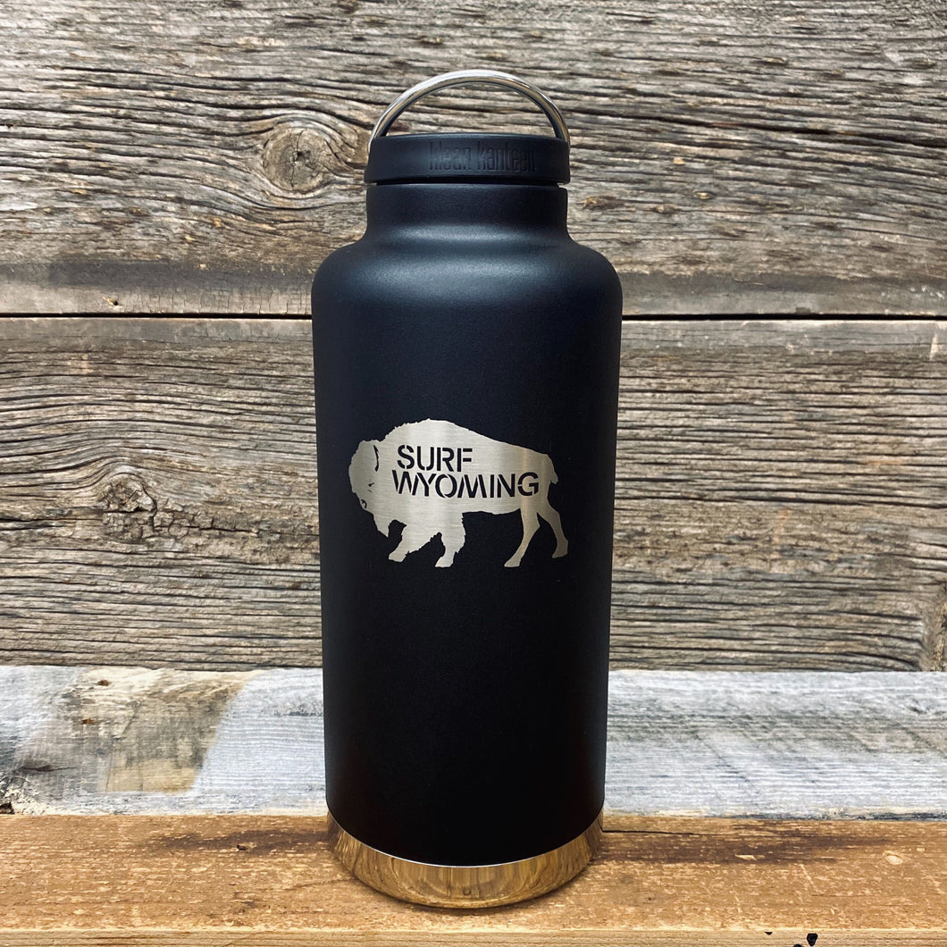64oz Insulated Craft Growler - Matte Black/Silver