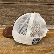 Load image into Gallery viewer, Soda Script Trucker Hat - Brown