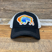 Load image into Gallery viewer, Surf Wyoming-Prismatic Bison Hat - Black-