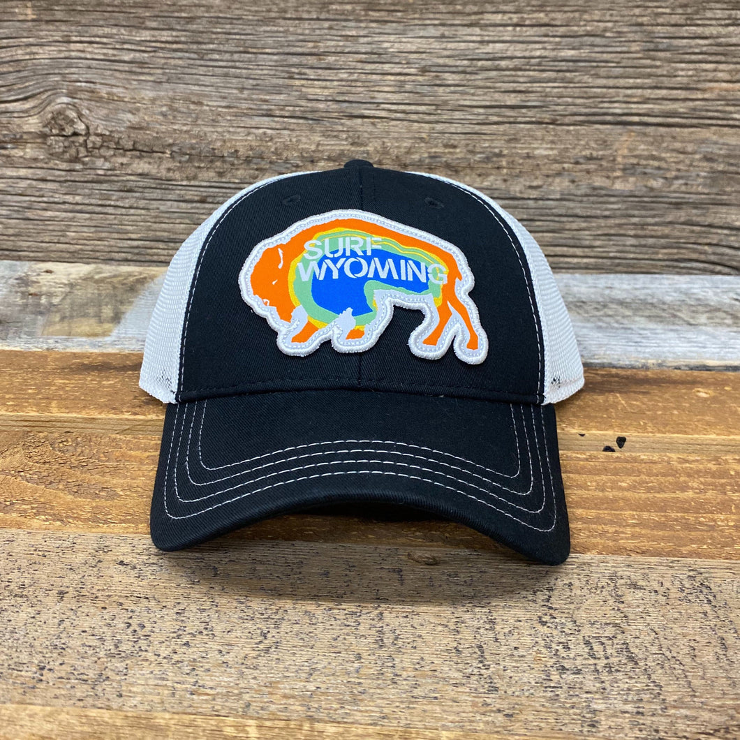 Surf Wyoming-Prismatic Bison Hat - Black-