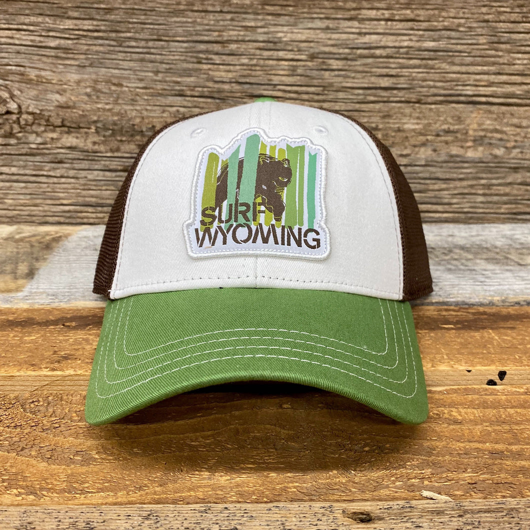 Bear Peak Trucker Hat - Green