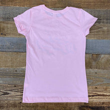 Load image into Gallery viewer, Girls Soda Script Bison Tee - Pink