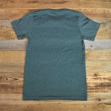 Load image into Gallery viewer, Men's Bison Logo Tee - Heather Wasabi