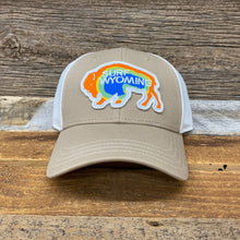 Load image into Gallery viewer, Surf Wyoming-Prismatic Bison Hat - Khaki-