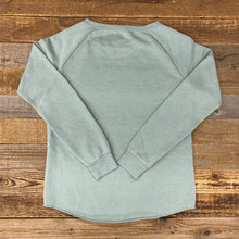 Load image into Gallery viewer, Women's Timberline Boyfriend Sweatshirt - Sage