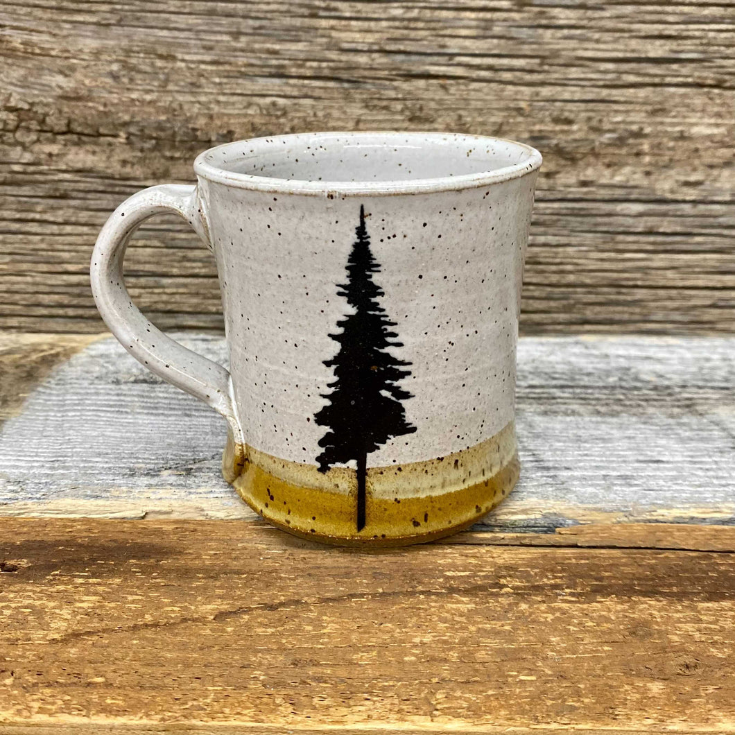 Lone Pine Handcrafted Mug - Grey Speck