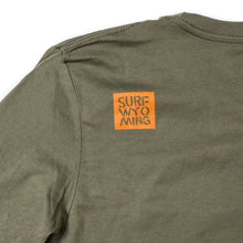 Load image into Gallery viewer, Men's Digi Bison Long Sleeve - Military Green