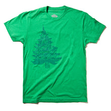 "Load image into Gallery viewer, Surf Wyoming-Men's SURF WYOMING® For the Benefit of the People"" Tee - Green-"