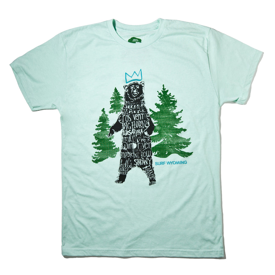 Men's SURF WYOMING® Ursa Major Tee- Minty Spearmint