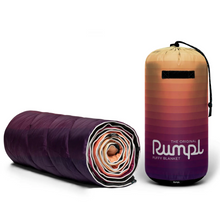 Load image into Gallery viewer, Rumpl Original Puffy Blanket - Dawn Pixel Fade
