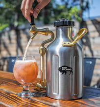 Load image into Gallery viewer, uKeg 64oz Growler - Stainless