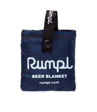 Load image into Gallery viewer, Rumpl Beer Blanket Koozie - Deepwater Blue