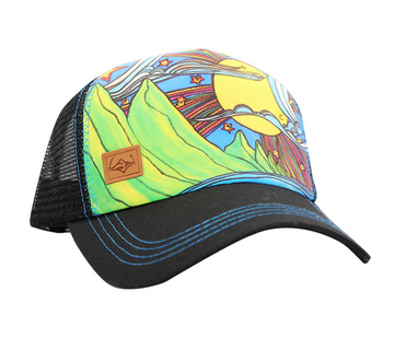 SACRED Surf Trucker - Makana - Black